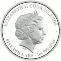 Аверс монеты «Змея с хризантемами»