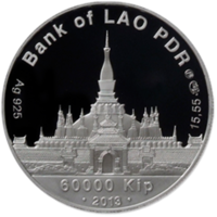 Реверс монеты «Символ любви»