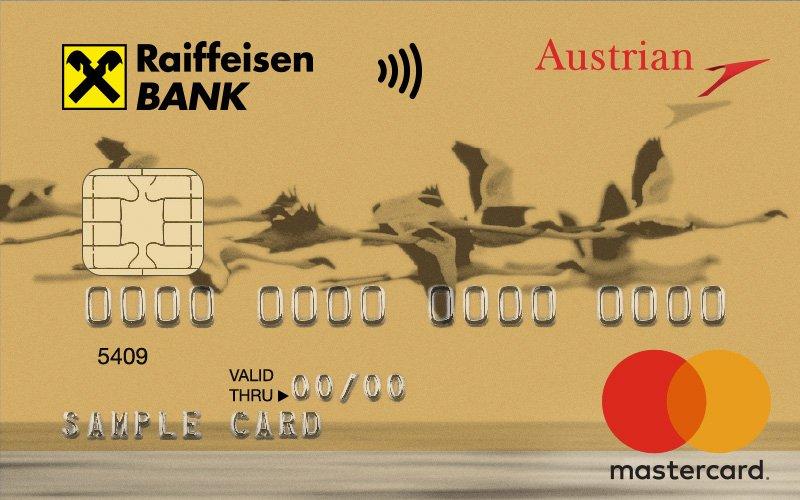 Кредитная карта Кредитная карта Austrian Airlines