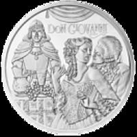 Аверс монеты «Моцарт»